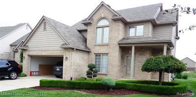 Macomb Twp Single Family Home For Sale: 45818 Hillsboro Drive