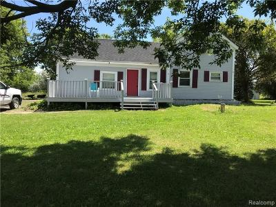 Single Family Home For Sale: 3449 S Duffield Road