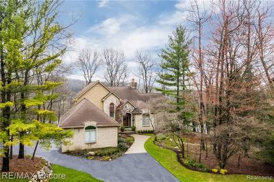 City Of The Vlg Of Clarkston, Clarkston, Independence, Independence Twp Single Family Home For Sale: 8840 Morning Mist Drive