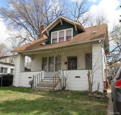 Detroit Single Family Home For Sale: 12292 Littlefield Street