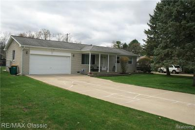 Novi Single Family Home For Sale: 47195 W 11 Mile Road