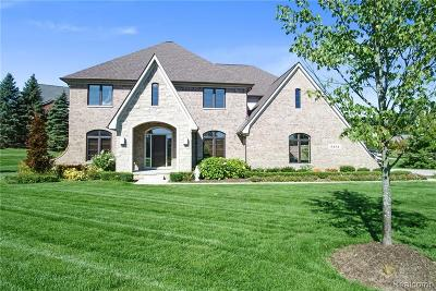 Macomb County, Oakland County, Wayne County Single Family Home For Sale: 5151 Springdale Court