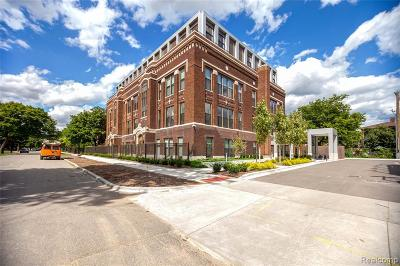Detroit Condo/Townhouse For Sale: 1454 Townsend #205