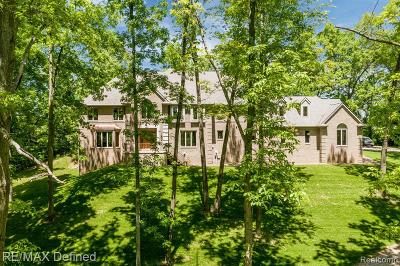 Addison Twp Single Family Home For Sale: 2222 Hosner Road