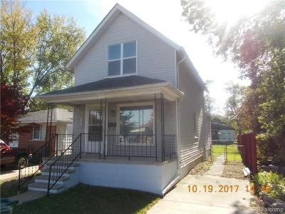 Lincoln Park Single Family Home For Sale: 569 Cleophus Parkway