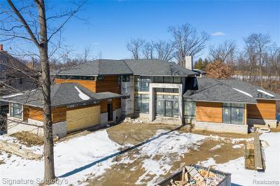 Bloomfield Twp Single Family Home For Sale: 2718 Turtle Lake Drive