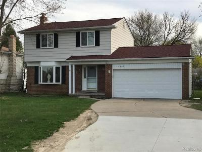 STERLING HEIGHTS Single Family Home For Sale: 13380 Canal Road