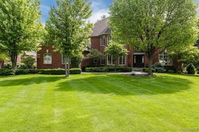 Macomb County, Oakland County, Wayne County Single Family Home For Sale: 2609 Pebble Beach Drive