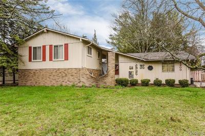 Commerce, Commerce Township, Commerce Twp Single Family Home For Sale: 1900 Glen Iris Drive