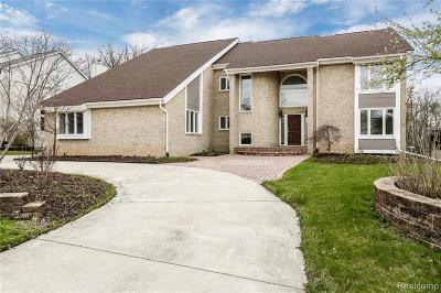 West Bloomfield Twp Single Family Home For Sale: 6123 Oak Trail