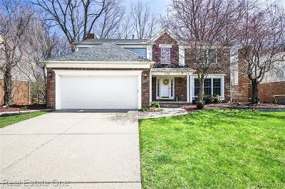 Rochester Hills Single Family Home For Sale: 1355 Thames Drive