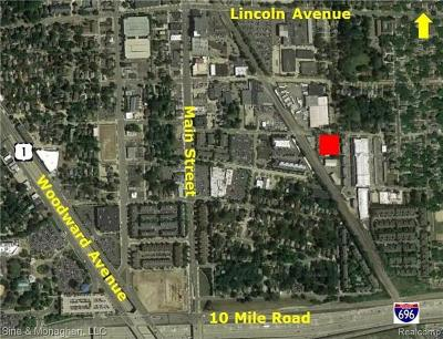 Royal Oak Commercial Lots & Land For Sale: 424 E Harrison Avenue