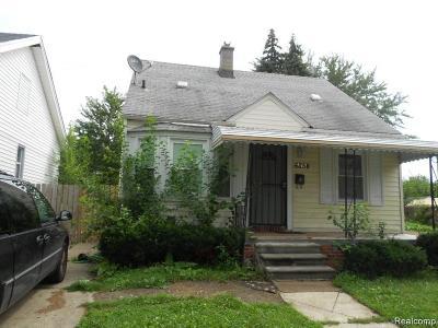 Detroit Single Family Home For Sale: 6858 Stahelin Avenue