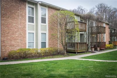 Northville Condo/Townhouse For Sale: 705 Randolph Street #212