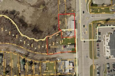 Commercial Lots & Land For Sale: 546 S Rochester Road