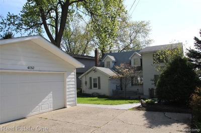 Highland Twp Single Family Home For Sale: 4052 Hillcrest