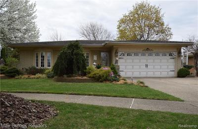 Sterling Heights Single Family Home For Sale: 14270 Edshire Drive