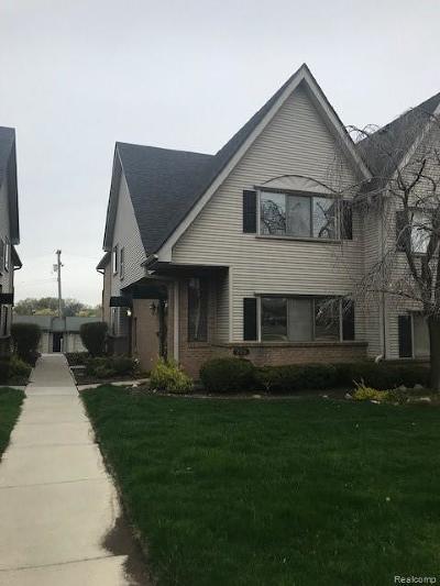 Dearborn Condo/Townhouse For Sale: 21936 Morley Avenue #6