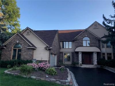 Commerce, Commerce Township, Commerce Twp Single Family Home For Sale: 3895 Ranya Drive
