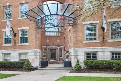 Birmingham Condo/Townhouse For Sale: 327 Southfield Road #1AN
