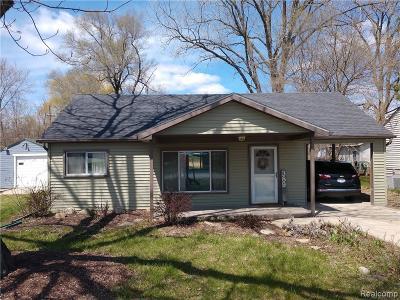 Brandon Twp, Ortonville, Ortonville Vlg Single Family Home For Sale: 389 E Glass Road