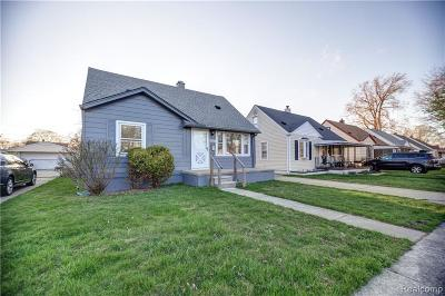 Allen Park, Lincoln Park, Southgate, Wyandotte, Taylor, Riverview, Brownstown Twp, Trenton, Woodhaven, Rockwood, Flat Rock, Grosse Ile Twp, Dearborn, Gibraltar Single Family Home For Sale: 6362 Duncan Street