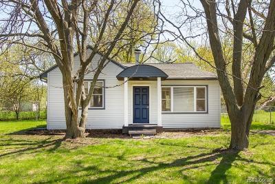 Troy Single Family Home For Sale: 3316 Helena Drive