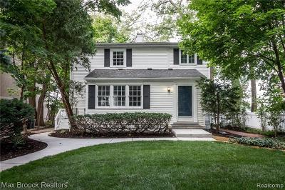 West Bloomfield Twp Single Family Home For Sale: 3470 Middlebelt Road