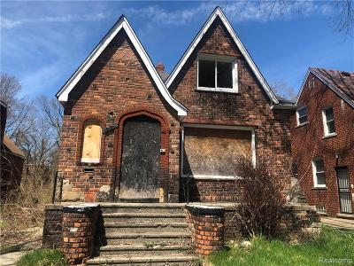 Macomb County, Oakland County, Wayne County Single Family Home For Sale: 13351 Elmdale Street