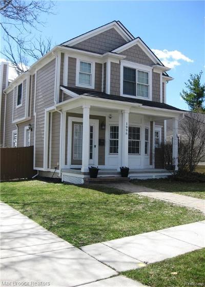 Birmingham Single Family Home For Sale: 1996 Haynes Street
