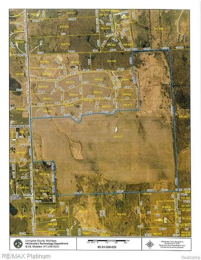 Hartland Twp MI Residential Lots & Land For Sale: $1,800,000