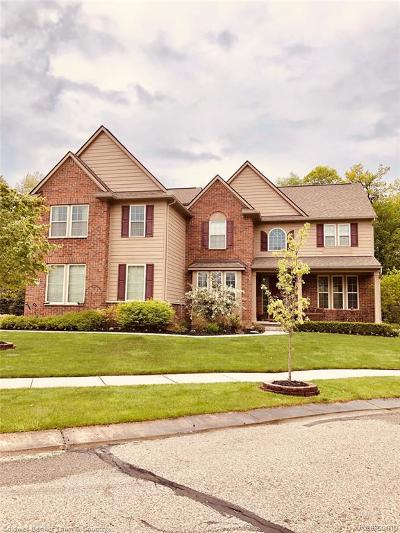 Commerce Twp Single Family Home For Sale: 6147 Birchcrest Lane