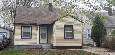 Lincoln Park Single Family Home For Sale: 1769 Reo Avenue