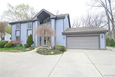 West Bloomfield Twp Single Family Home For Sale: 5835 Eastman Boulevard