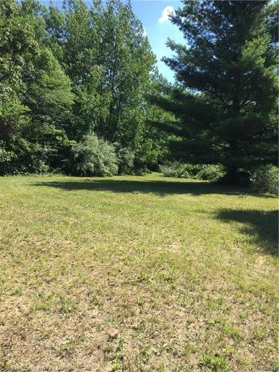 Addison Twp Residential Lots & Land For Sale: Curtis