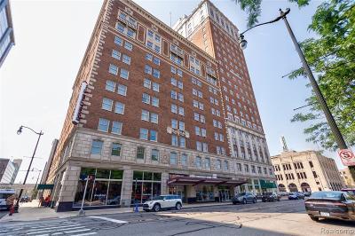 Detroit Condo/Townhouse For Sale: 525 W Lafayette Boulevard #16A