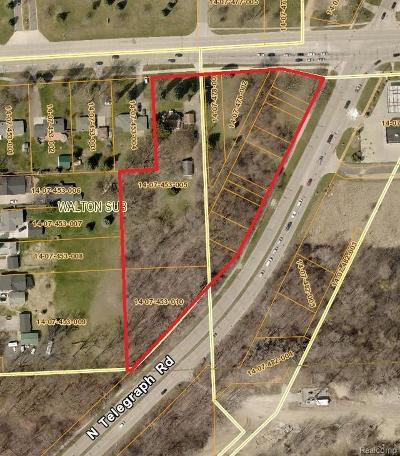 Commercial Lots & Land For Sale: Telegraph/Walton
