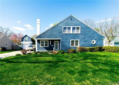 Birmingham Single Family Home For Sale: 1583 Villa Road