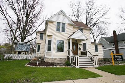 Farmington Single Family Home For Sale: 33620 Grand River Avenue