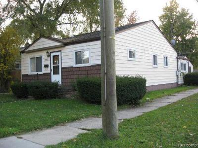Madison Heights MI Single Family Home For Sale: $179,900