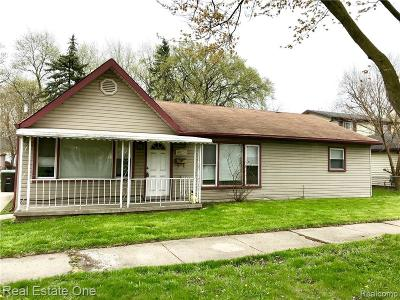 Taylor Single Family Home For Sale: 6015 Jackson Street