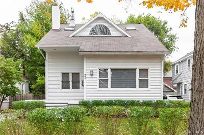 Birmingham Single Family Home For Sale: 544 Wallace Street