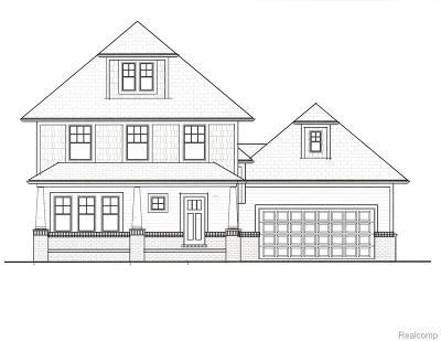 royal oak Single Family Home For Sale: 321 Baldwin Avenue