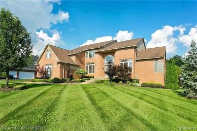 Oakland Twp Single Family Home For Sale: 4545 Ascot Court