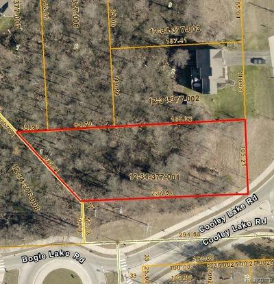 Residential Lots & Land For Sale: 1398 Oxbow Lake Road