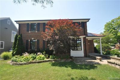 Birmingham Single Family Home For Sale: 1710 Pierce Street