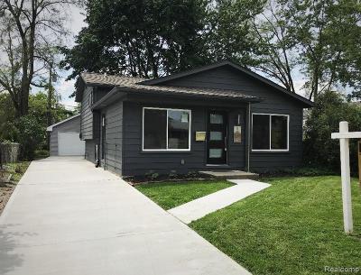 Berkley Single Family Home For Sale: 1907 Princeton Road