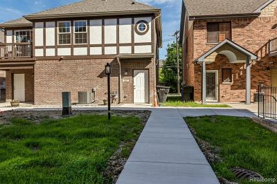 Detroit Condo/Townhouse For Sale: 423 E Ferry