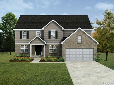 Canton, Canton Twp Single Family Home For Sale: 50439 Bailey's Landing