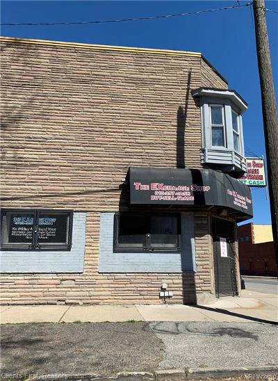 Detroit Single Family Home For Sale: 4856 W Vernor Highway